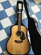 Acoustic Maton Guitar: steel string with case Melbourne CBD Melbourne City Preview
