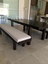 Solid Oak Table and Bench chairs Aldgate Adelaide Hills Preview