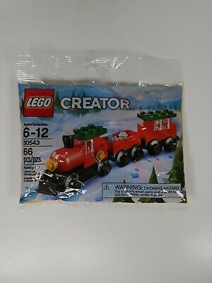 Lego 30543 Creator Christmas Train New Sealed 66 Pc Count