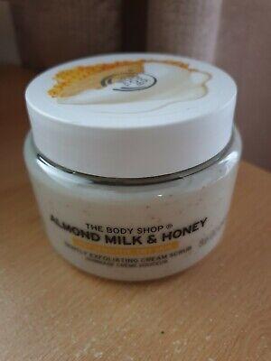 The Body Shop Almond Milk & Honey Exfoliating Cream Scrub 250ml