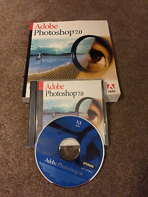 Adobe Photoshop 7 0 Upgrade For Mac On Cd Rom With Serial Code