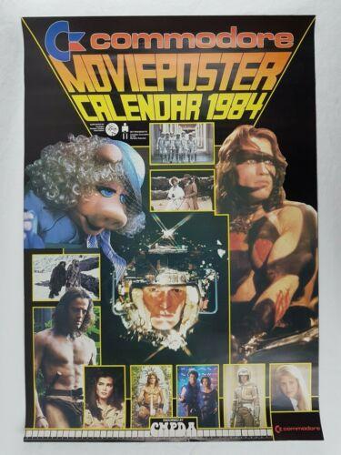 Commodore Movie Poster Calender 1984
