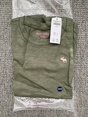 Abercrombie Kids Girls 11/12 Short Sleeve Tshirt - New With Tags
