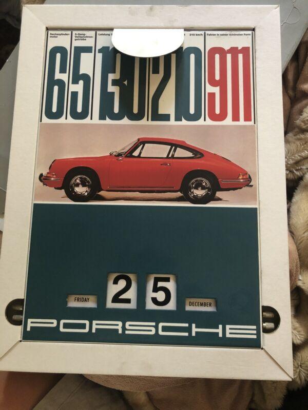 Porsche 911 Perpetual Calendar Original Porsche