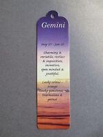 Bookmark Gemini Star Sign Horoscope Zodiac Christmas Stocking Gift Present - unbranded - ebay.co.uk