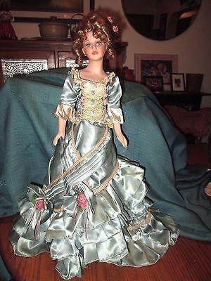 """Vintage 21"""" Porcelain Doll"""
