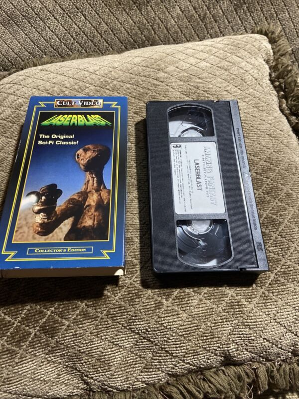 Laserblast (VHS, 1997) Kim Milford, Cheryl Smith, Cult Video