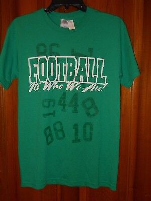 NWT Small Marshall University Thundering Herd Football Cotton Blend SS T Shirt