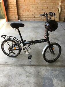 Stowaway 2.0 folding bike