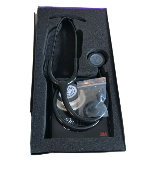 "3M Littmann Classic III Stethoscope 5803 27"" Black In Box"