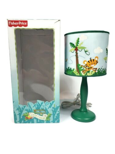 Fisher-Price Animals Of the Rainforest Lamp Baby Room Safari Décor