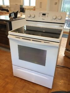 Whirlpool convection stove