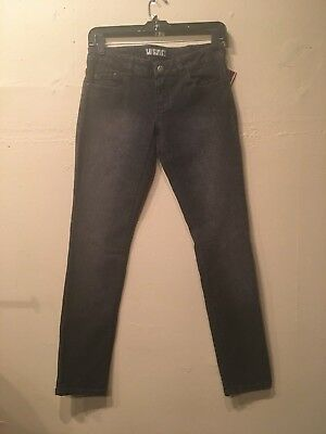 Lip Service Kill City Rock n' Roll Gray Static Faded Women's Jeans Size 3 Service Rock N Roll Jeans