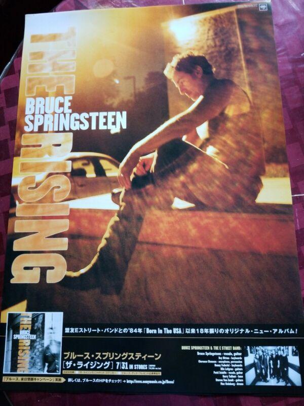 BRUCE SPRINGSTEEN THE RISING JAPAN POSTER