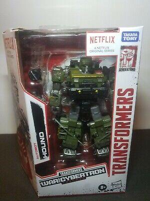 Transformers War For Cybertron Netflix Series Autobot Hound Walmart Exclusive
