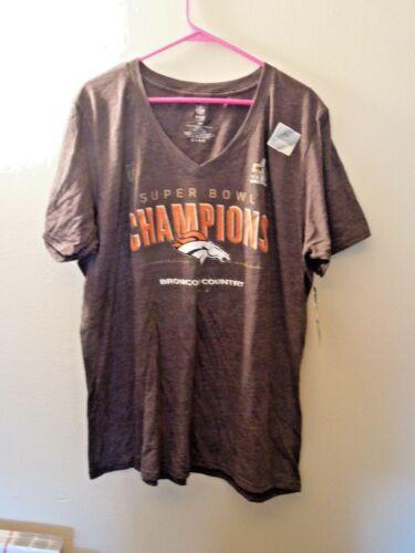 NWT - NFL Pro Line - Denver Broncos - Plus 4XL - Super Bowl Champ - T Shirt