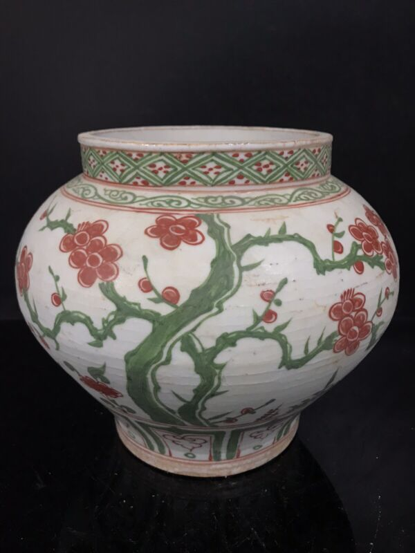 Ming dynasty : Three tree vase chinese antiques H21cm