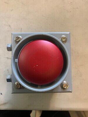 Emergency Stop Push Button In Enclosure