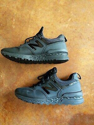 New Balance 574 Women's Black Shoes Size 8