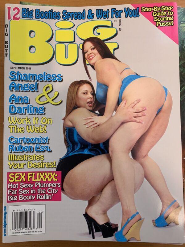 BIG BUTT Magazine SEPT 2008 ( Vintage )