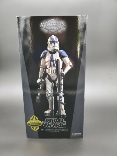 """Sideshow Star Wars 501st Legion Clone Trooper Exclusive  1:6 Scale 12"""" Brand New"""