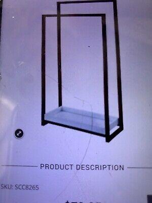 Kingston Brass SCC8265 Edenscape Pedestal 2-Tier Steel Construction Towel Rac...