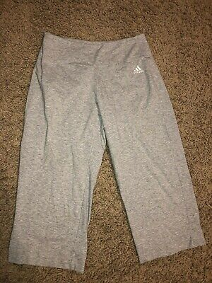 Adidas Clima365 Cropped Capri Active Workout Pants Small S -