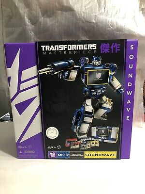 2013 Toys R Us Exclusive Hasbro G1 Transformers Masterpiece Soundwave MP-02