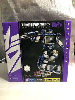2013 Toys R Us Exclusive Hasbro G1 Transformers Masterpiece Soundwave MP-02