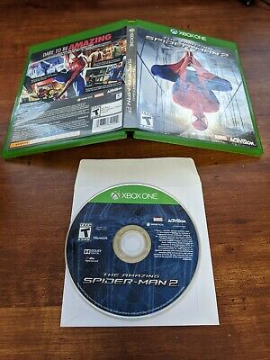 The Amazing Spiderman 2 (Microsoft Xbox One, XB1, 2014) free shipping