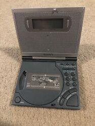 Vtg Sony ICF-CD2000 Dream Machine CD Clock FM/AM Radio w/ Backlit Display TESTED