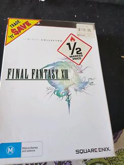 Ps 3 game final fantasy xiii collectors edition