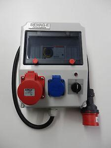 Getriebemotor 380v - Zeitschaltuhr für Kraftstrom 16A-400V auch in 32A lieferbar
