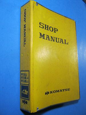 Komatsu Shop Manual Pc60-5 Pc60l-5 Pc60u-5