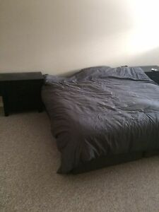 Furnished with king size bed and dressers