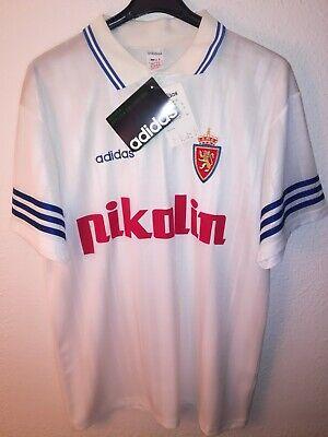 REAL ZARAGOZA 1995-1996 BNWT Pikolin camiseta shirt trikot maillot maglia adidas