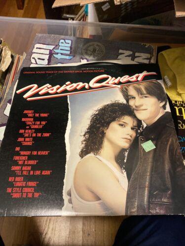Vision Quest Soundtrack Vinyl Lp VG Condition - $4.50