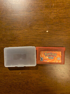 Pokemon Fire Red Reproduction