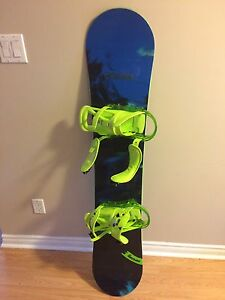 Burton Ripcord snow board with Ride boots