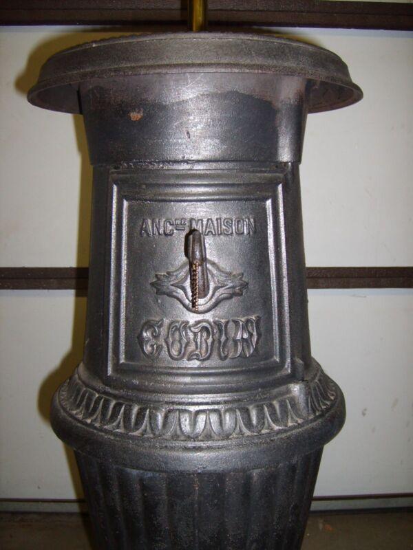 Antique Pot Belly Stove ANC ne Maison by Godin