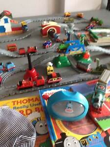 Thomas Tank engine trains, tracks, books dvd's, collection Warriewood Pittwater Area Preview