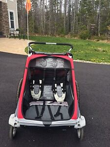 Cougar Chariot stroller and bike trailer