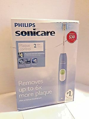 Philips Sonicare HX6211/46 2 Series Plaque Control Rechargeable Toothbrush New