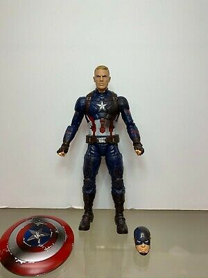 Marvel Legends Captain America (Civil War 3 Pack) complete, loose figure