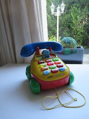 ♥ Téléphone Parlant Musical Et Roulant - Clavier Lumineux Vtech Lumi Roul