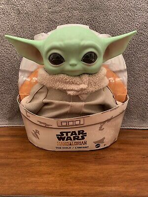 Disney Star Wars The Mandalorian The Child 11 inch Plush Toy Baby Yoda Mattel