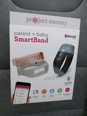 Parent & Baby Smartband Monitor Project Nursery PNB10 3 bands Bluetooth Smart.