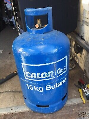 Calor Gas 15kg Butane Bottle BBQ Full PICK UP N33JN /DELIVERY WITHIN M25 Only