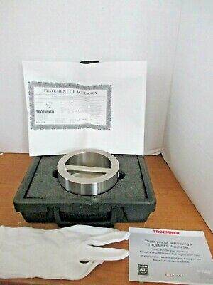 Troemner Calibration 5 Kg Weight Serial 63761statement Of Accuracycase