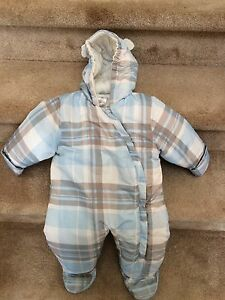 12 month snowsuit - like new